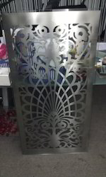 laser cutting door grill