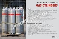 Poster on Safe Handling of Gas Cylinder