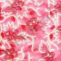 Embroidered Chenille Fabric