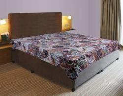 Kantha Gudari Paisley Design Bed Cover
