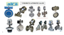 2/2 Way Angle Type- Y Control Valves