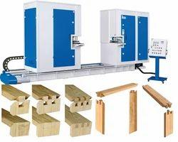 Single End Tenoning Machine For Door & Window Model Lw-3000-