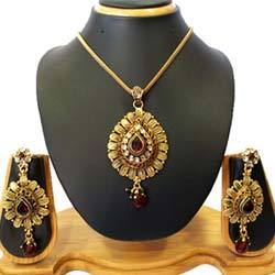 Gold Plated Pendant Jewelry Set