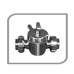two way dairy valve