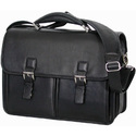 Buckle Leather Briefcase