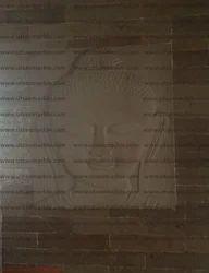 Sand Stone Buddha Wall Mural