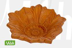 Vaah Terracotta Colored T-Lite Candle Holder