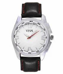 VESPL Classic White Dial Analog Men's Watch-VS151