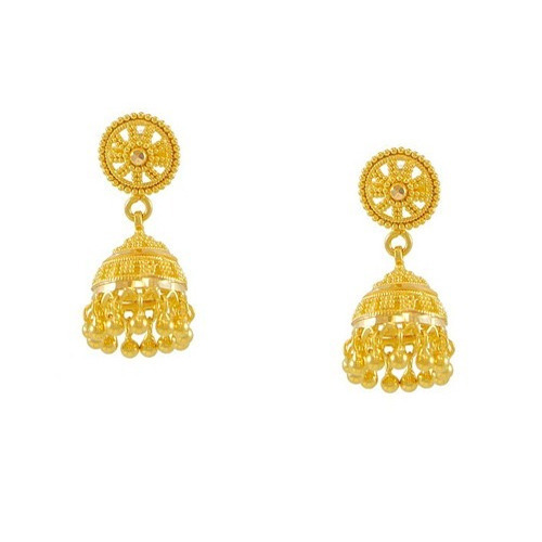Gold Jewellery Gold Earrings Manufacturer from Jaipur