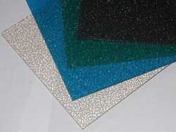Embossed / Textured Polycarbonate Sheets
