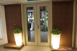 LED Planters Conical Big