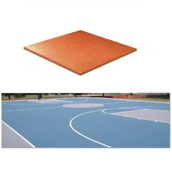 Smooth PU Sports Court Floor