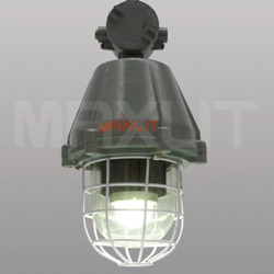 45w led flp well glass lamps