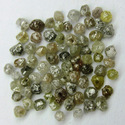 Natural Rough Diamond Beads In Mix Color
