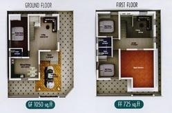 3BHK Individual House Project plan