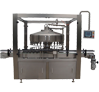 Automatic Rotary Bottle Filling Line with Piston Filler