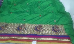 Fancy Chanderi Fabric