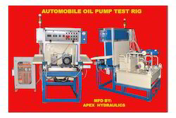 Truck Oil Pump Test Rig