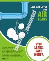 Prevent Energy Leaks Posters