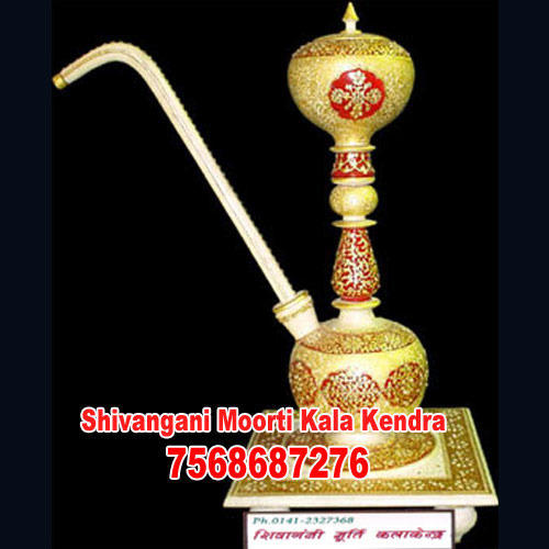 Gold Painted Handicraft Item