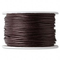 Waxed Leather Cords For Jewelry, Scrapbooking