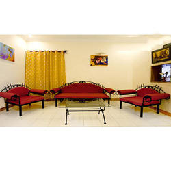 Living Room Furniture Metal Sofa Sets Manufacturer from Pune