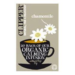 organic chamomile infusion tea bag
