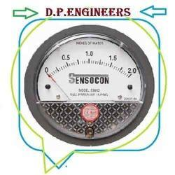 Low Cost Sensocon Differential Pressure Gauge