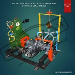 Four Stock Diesel Engine with Hydraulic Dynamometer