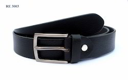 Executive Black Leather Belts