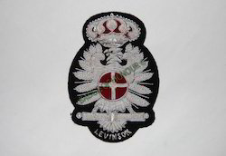 Levinson Hand Embroidered Blazer Badge