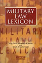 Military Law Lexicon