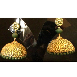 Stylish Terracotta Jhumkas