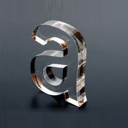 acrylic laser cut letters
