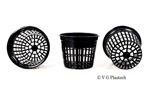 5 Inch Round Heavy Duty Net Pot
