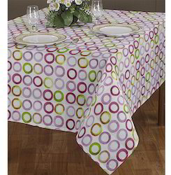 Round Printed Table Cloths