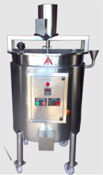 Flat Mixing Tank with Stirrer