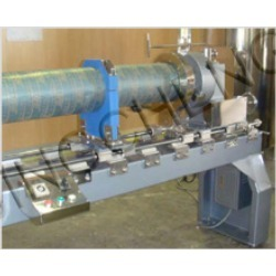 Rotary Screens End Rings Gluing Machine