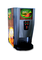 3 Option Bru Vending Machine