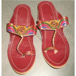 Leather Flats Slippers