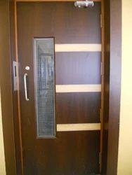 wooden swing doors