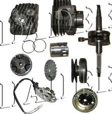 Exporter of two wheeler spare parts