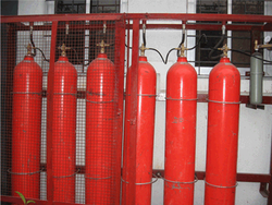 Co2 Supression System Fire Fighting Fire Extinguisher
