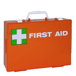 Suitcase Style First Aid Box