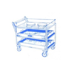 Canteen Service Trolley