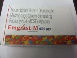 Emgrast-m 500mg Injection Sargramostim