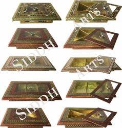 Metal Meenakari Boxes