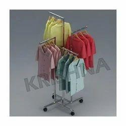 4 Way Garment Display Racks