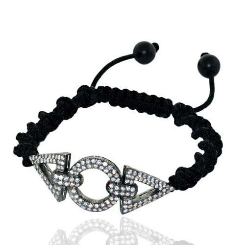 Pave Diamond Macrame Jewelry