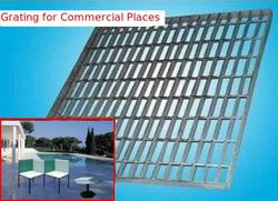 Grating for Commercial Places